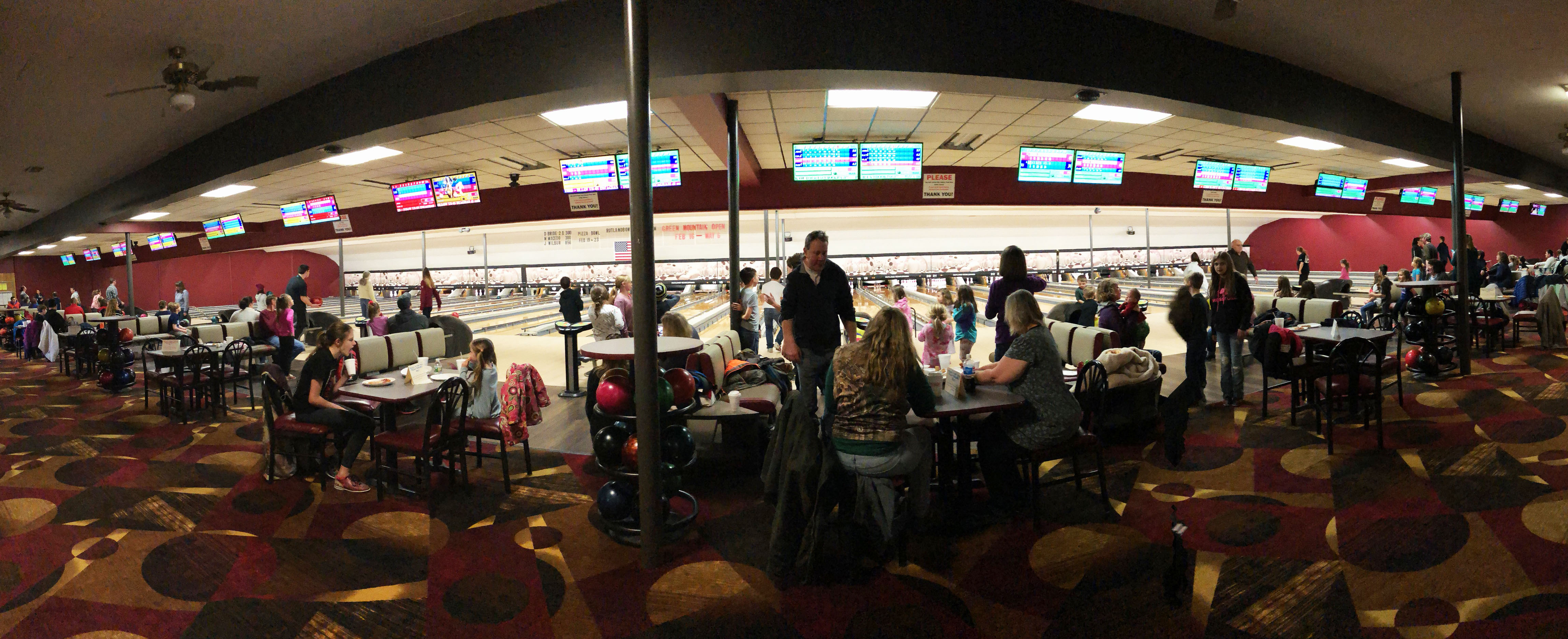 Hold Your Next Party or Event at Rutland Bowlerama